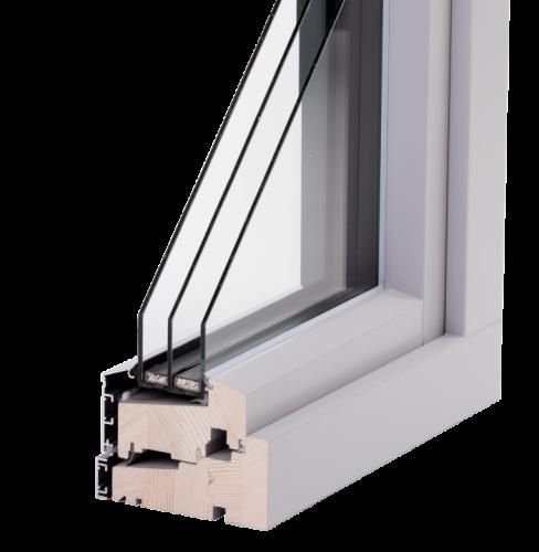 SW14 aluclad window (3-glazing)